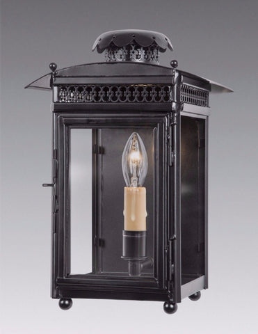 Pierced Dome Top and Gallery Design Lantern With Finials LEWM-71