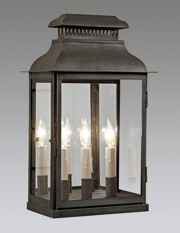 Three Light Cut Out Top Design Lantern LEWM-76