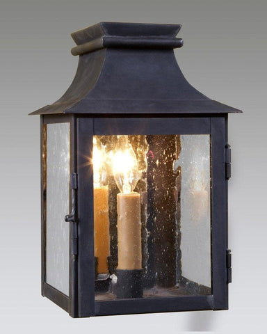 Mirror Back Wall Mount Station Lantern LEWM-7