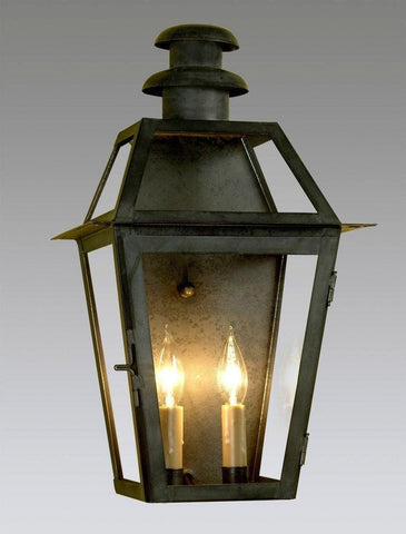 Two Light Mushroom Top Lantern LEWM-8
