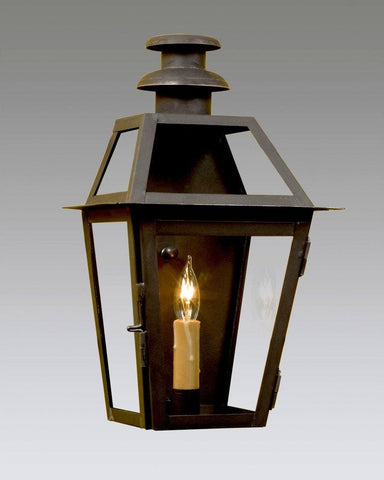 One Light WaLL Mount Mushroom Top Lantern LEWM-9