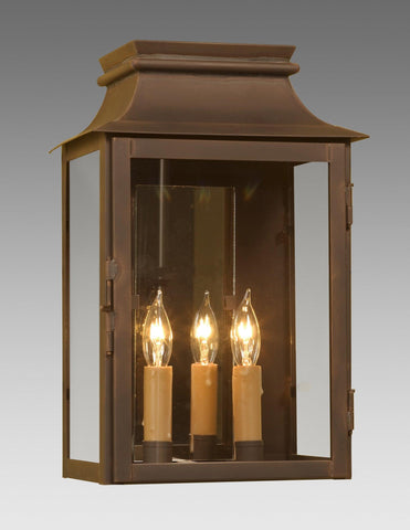 Two Light Mirror Back Station Lantern LEWM-42