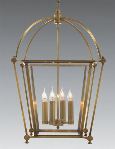 Brass Dome Style Hanging Lantern LL-202