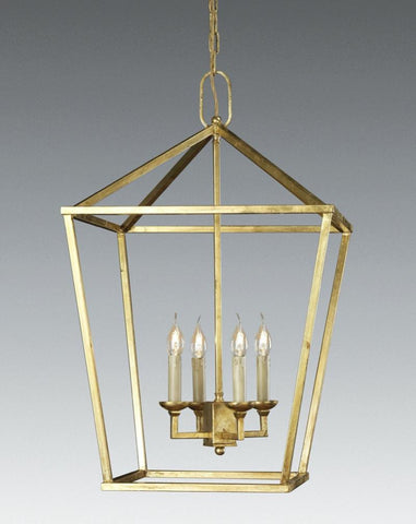 Cast Brass Four Light Lantern LL-45