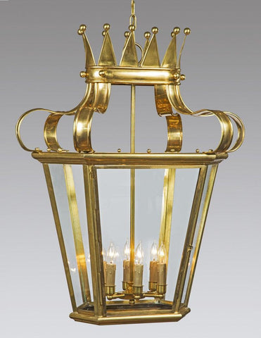 Crown Top Six Light Lantern LL-563