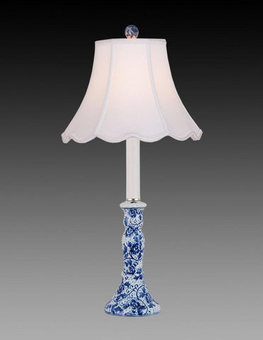 Porcelain Style Blue And White Lamp LPT 15