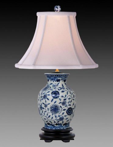 Porcelain Style Blue And White Lamp LPT-10