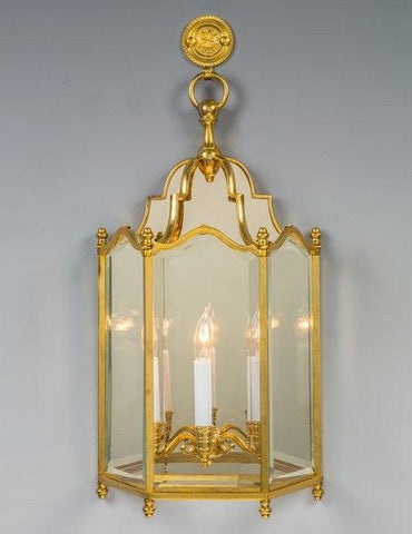 English Style Beveled Glass Sconce LSFI-152