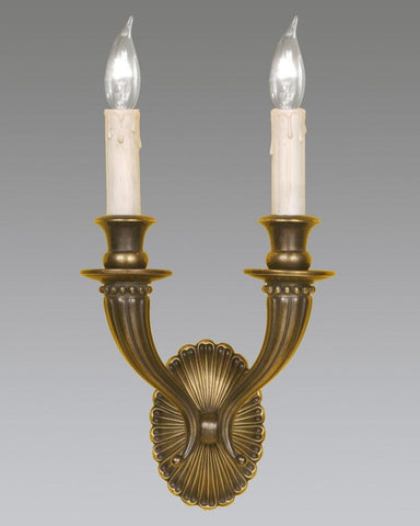 Oval Back Shell Design Sconce LSFI-19B