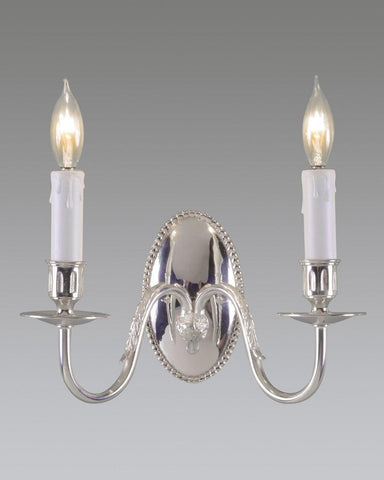 Oval Back Rams Head Sconce LSFI-20D