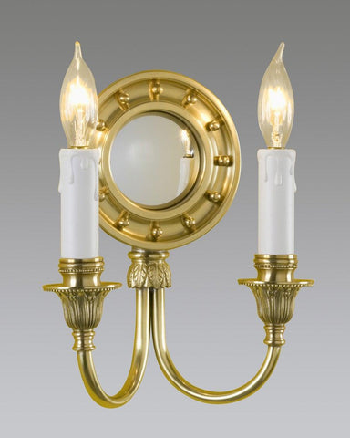 Federal Girandole Style Sconce With Mirror LSFI-36