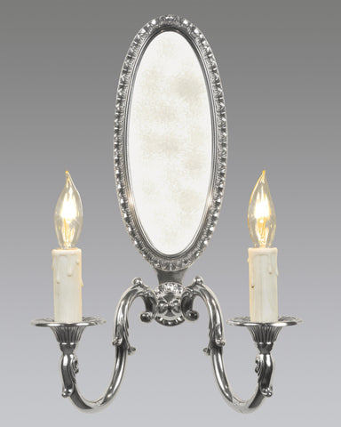 Queen Anne Style Oval Back Sconce LSFI-40