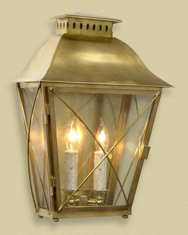 Brass Criss Cross Design Sconce LSFI-52a