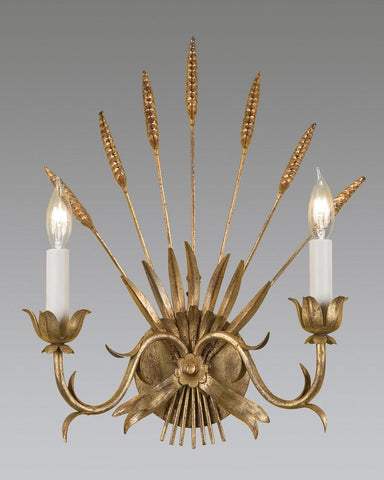 Wheat Design Sconce LSFI-61