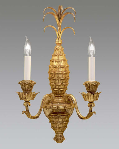 Pineapple Design Sconce LSFI-66