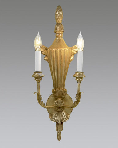 Ribbed Urn Design Sconce  LSFI-73