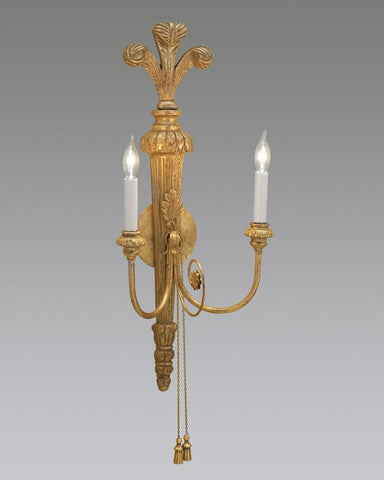 Prince Of Wales With Tassel Design Sconce LSFI-78