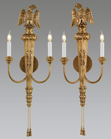 Eagle And Tassel Design Sconce LSFI-81