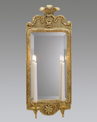 Prince Of Wales Design Sconce With Rectangular Mirror LSFI-88