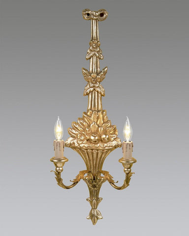 Bow And Floral Design Sconce LSFI-90