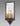 Country style sconce - curved mirror