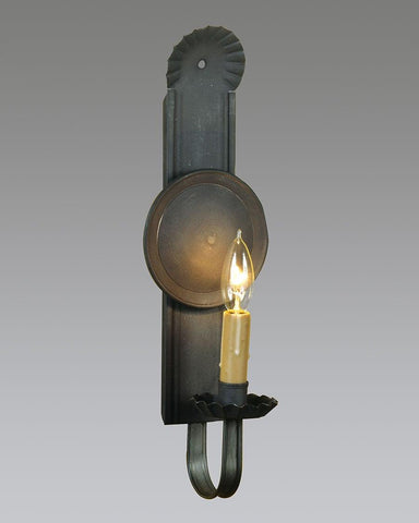 Country style sconce - center disk