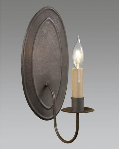 Country style sconce - Oval Shaped