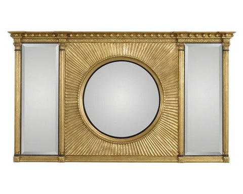 Three Section Mirror With Center Convex Mirror MF-1