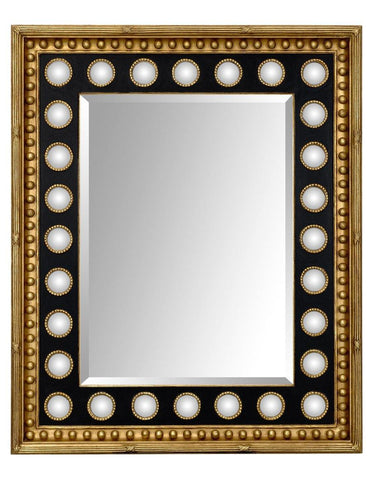 Beveled Mirror With Beaded Mini Mirrors MF-6