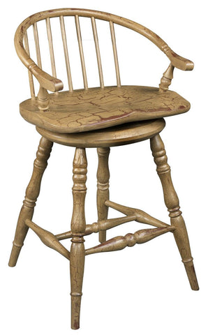 Low back tavern arm stool FSW-18