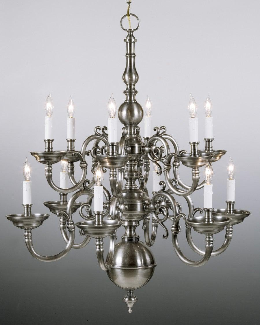 Cast brass chippendale style twelve light two tier chandelier lcfi cast brass chippendale style twelve light two tier chandelier lcfi 2b arubaitofo Image collections