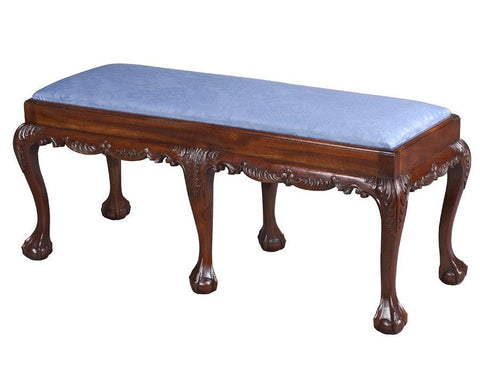 Chippendale Style Rectangular Bench FSU-13