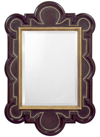 william and mary antique beveled mirror