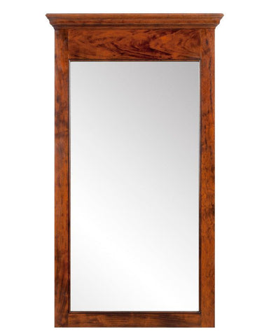 federal style mirror with molded top