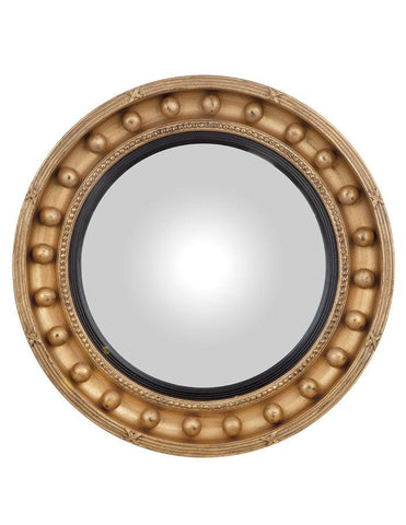 Round Girandole Convex Mirror With Emphasized Details MC-24
