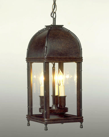 Tole Dome Top Lantern LL-33