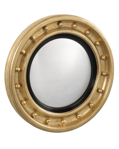 girandole antique federal convex mirror