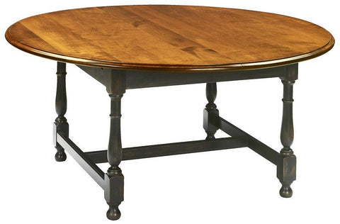 Round tavern table with optional ogee edge FDTHSC-8