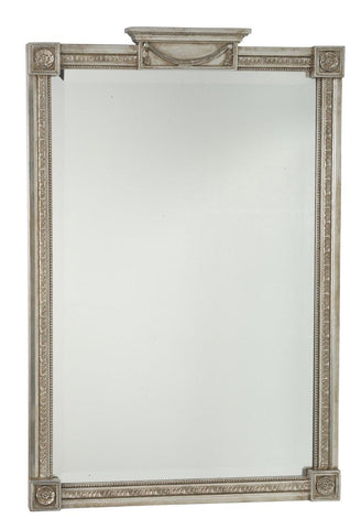 Pier Mirror With Center Top Panel And Swag MF-15