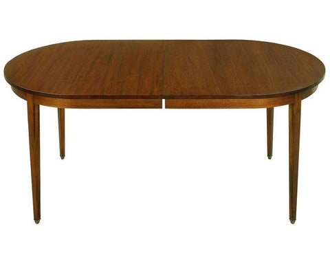 Hepplewhite D-end dining table FDTF-15