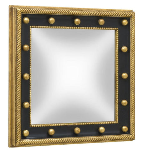 square federal convex mirror