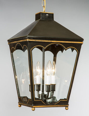 Tapered Style Tole Lantern LL-107