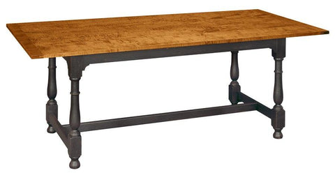 Rectangular tavern table with optional bread board ends FDTHSC-6