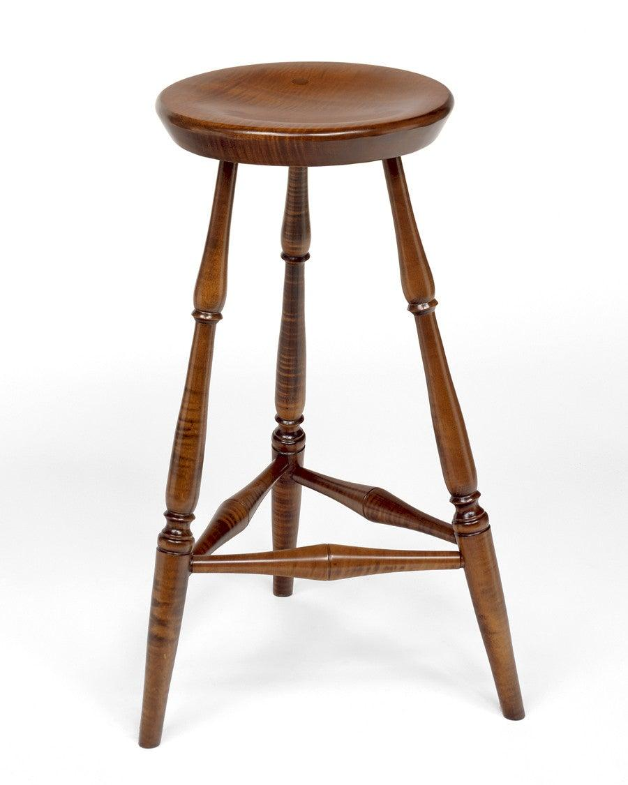 Southeastern Pennsylvania Style Three Legged Stool