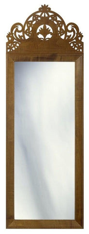 antique federal beveled mirror