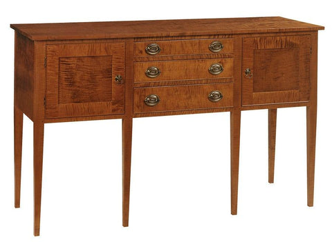 Hepplewhite style sideboard with three drawers FSB-10