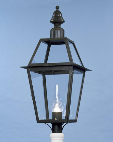 Post Mount Bell Top Lantern LEPM-12