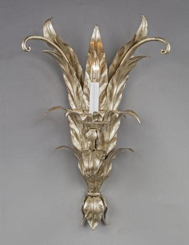 Metal Leaf Design Sconce LSFI-116A
