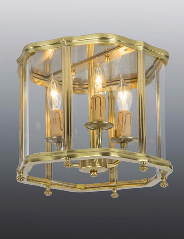 Queen Anne Style Ceiling Mount Lantern LCM-23a