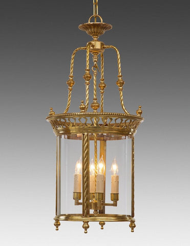 Rope And Cut Out Design Hanging Lantern LL-79